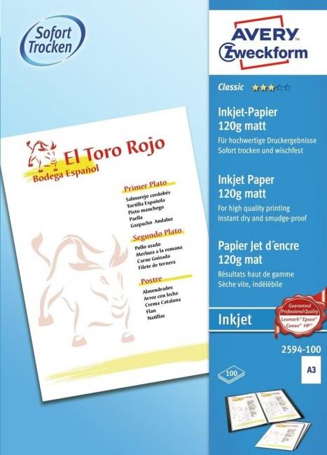 Papier fotograficzny do drukarek atramentowych 120g/m2 - zdjęcie główne