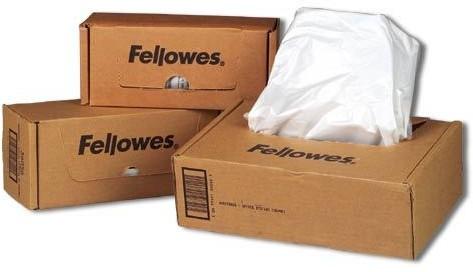 Fellowes worki do niszczarek Automax 300C i 500C 60-75l (50szt) - zdjęcie główne