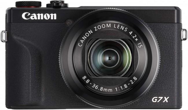 Canon PowerShot G7X Mark III czarny + zapasowy akumulator - zdjęcie główne