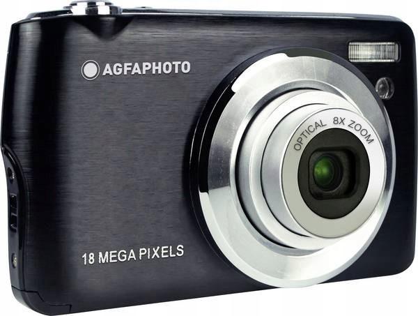 Agfa Photo DC8200 Czarny + etui + karta SD 16GB - zdjęcie główne