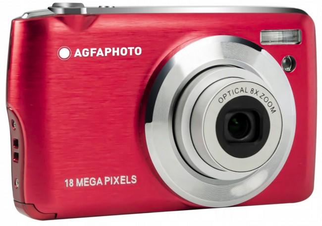 Agfa Photo DC8200 Czerwony + etui + karta SD 16GB - zdjęcie główne