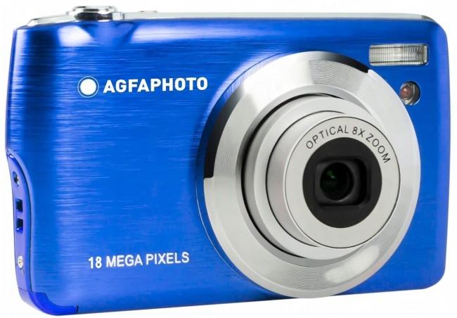 Agfa Photo DC8200 Niebieski + etui + karta SD 16GB - zdjęcie główne
