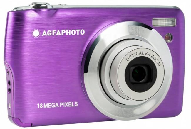 Agfa Photo DC8200 Fioletowy + etui + karta SD 16GB - zdjęcie główne
