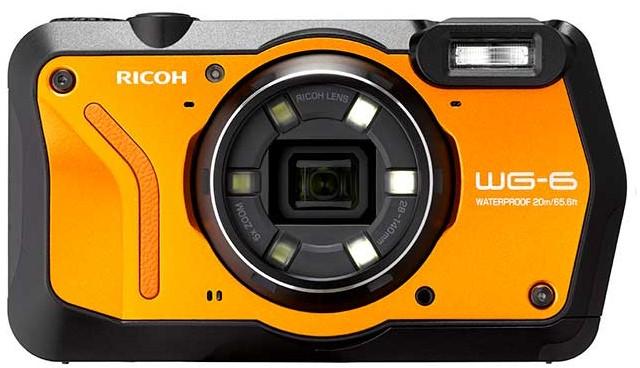 Ricoh WG-6 Pomarańczowy - zdjęcie główne
