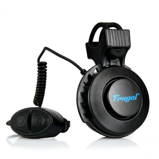 Frugal klakson elektryczny do e-hulajnogi Czarny - zdjęcie główne