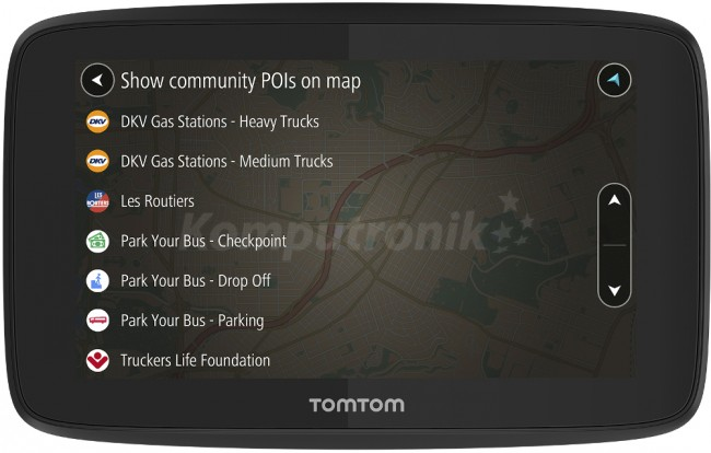 TomTom GO PROFESSIONAL 520 wifi EU - zdjęcie główne