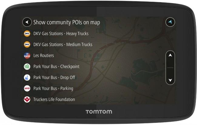 TomTom GO PROFESSIONAL 520 wifi EU [oferta Outlet] - zdjęcie główne