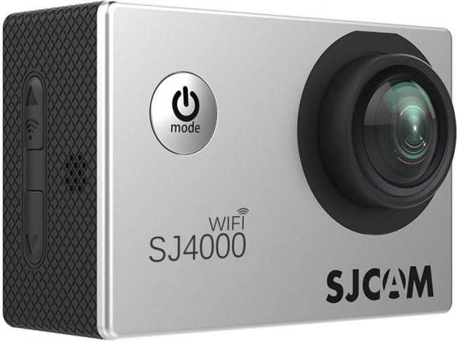 SJCAM SJ4000 WiFi Srebrny - zdjęcie główne