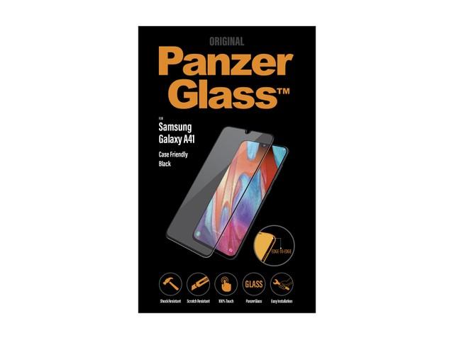 PanzerGlass Samsung A41 czarny - zdjęcie główne