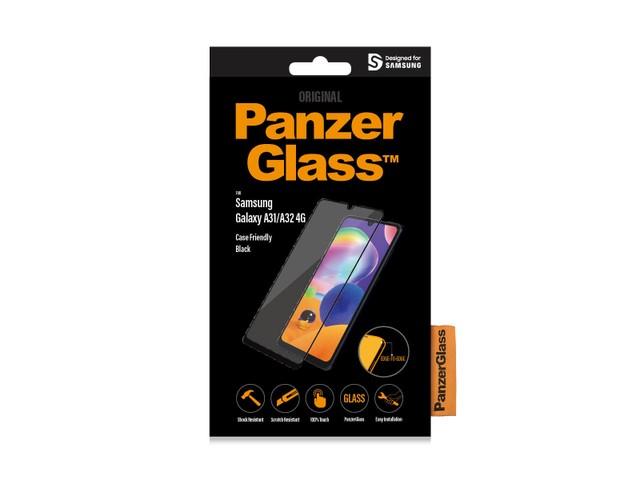 PanzerGlass Samsung Galaxy A31/A32 4G czarny - zdjęcie główne