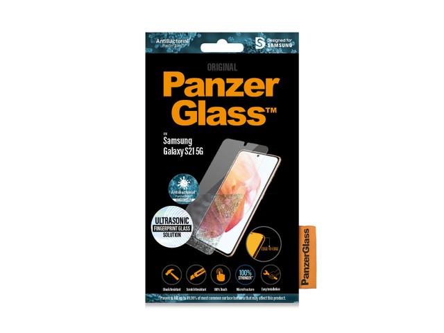PanzerGlass Samsung Galaxy S21 5G antybakteryjne czarny do etui - zdjęcie główne