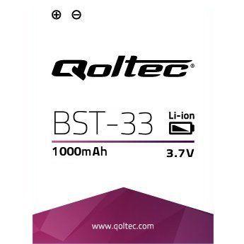 Qoltec bateria do Sony Ericsson BST-33, 1000mAh - zdjęcie główne