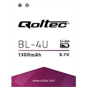 Qoltec bateria do Nokia BL-4U, 1300mAh - zdjęcie główne
