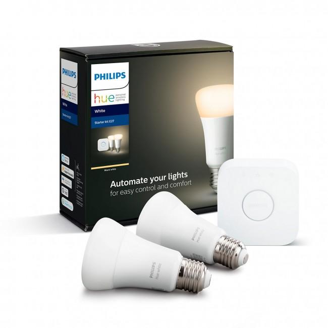Philips Hue mostek + 2x E27 W 9,5W BT - zdjęcie główne