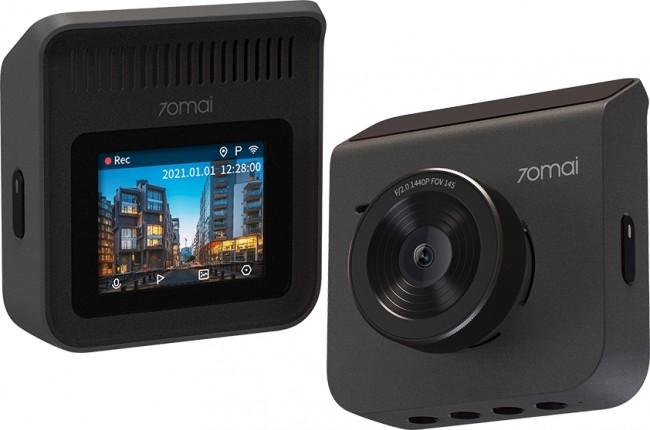 70mai Dash Cam A400 +Rear Cam RC09 Set Gray - zdjęcie główne