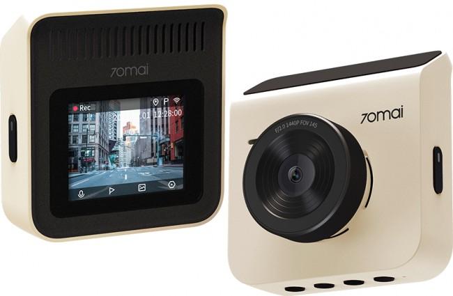 70mai Dash Cam A400 +Rear Cam RC09 Set White - zdjęcie główne