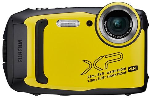 Fujifilm FinePix XP140 żółty - zdjęcie główne