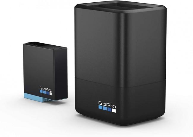 GoPro Dual Battery Chgr + Battery (H8/7/6 BLK) - zdjęcie główne