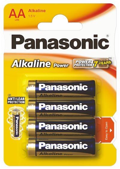 Panasonic Power Alkaline AA - 4 szt - zdjęcie główne
