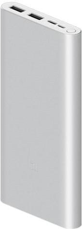 Xiaomi Mi Power Bank 18W Fast Charge 3 10000mAh srebrny - zdjęcie główne