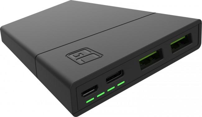 Green Cell GC PowerPlay 10000 mAh czarny - zdjęcie główne