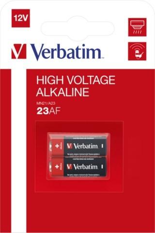 Verbatim Alkaline LR23A - 2szt - zdjęcie główne