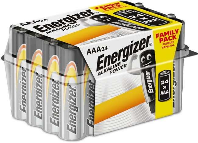 Energizer Alkaline Power AAA/LR03 - 24 sztuki (box) Family Pack - zdjęcie główne
