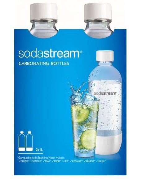 Sodastream zestaw 2x1L Biały - zdjęcie główne