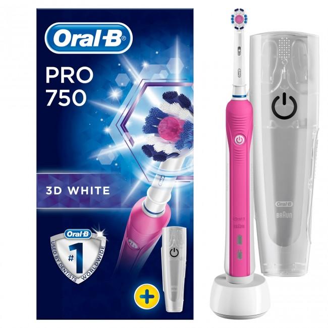 Oral-B Pro 750 Pink - zdjęcie główne