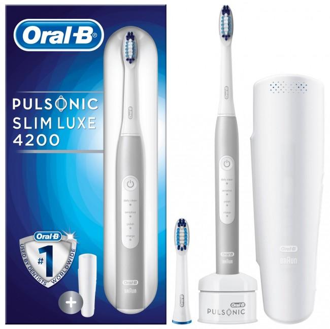 Oral-B Pulsonic SlimOne 4200 White - zdjęcie główne