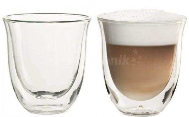 De'Longhi 2 Glass Capp.190ml - zdjęcie główne
