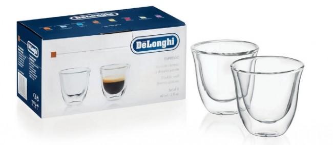 De'Longhi szklanki zestaw 2szt. /60ml - zdjęcie główne