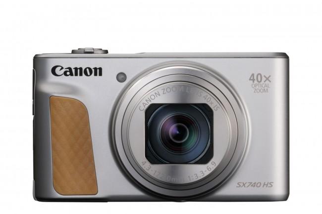 Canon PowerShot SX740 HS Srebrny - zdjęcie główne