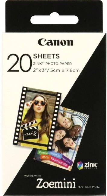 Canon ZINK Paper ZP-2030 wkłady do ZOEMINI - 20 zdjęć - zdjęcie główne