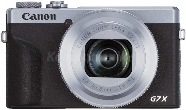 Canon PowerShot G7X Mark III srebrny - zdjęcie główne