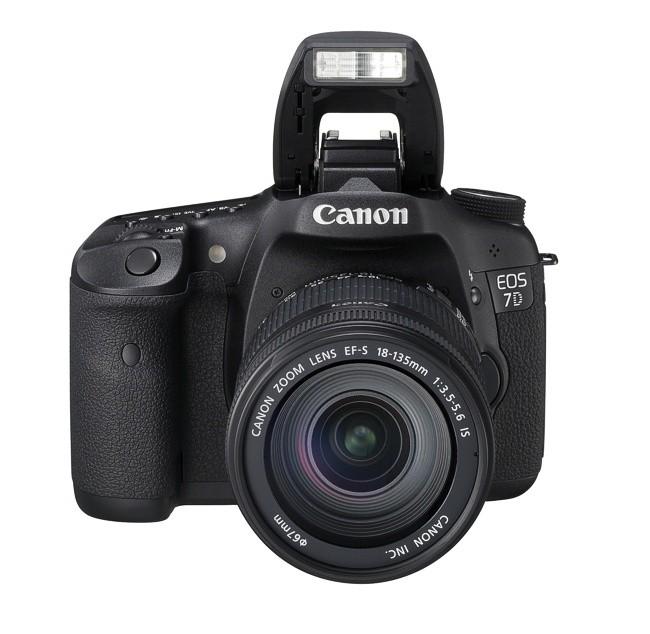 Canon EOS 7D + Canon EF 18-135mm IS - zdjęcie główne