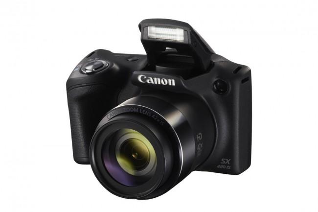 Canon PowerShot SX420 IS Czarny - zdjęcie główne