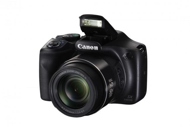 Canon PowerShot SX540 HS Czarny - zdjęcie główne