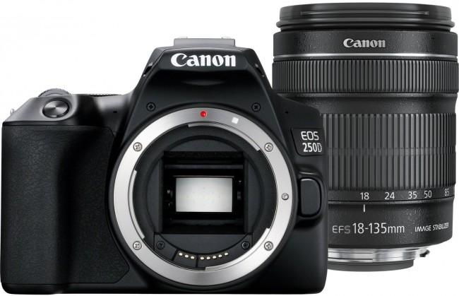 Canon EOS 250D + obiektyw EF-S 18-135mm f/3.5-5.6 IS STM - zdjęcie główne