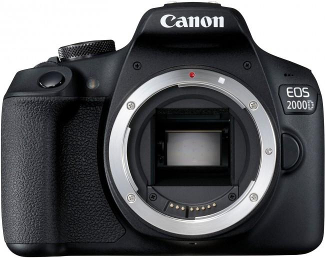 Canon EOS 2000D Korpus Czarny - zdjęcie główne