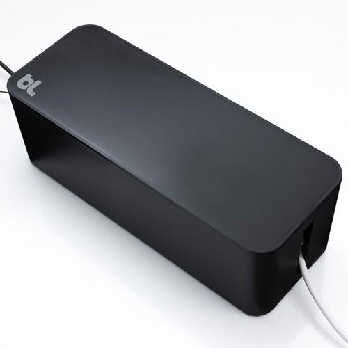 BlueLounge CableBox czarny - zdjęcie główne