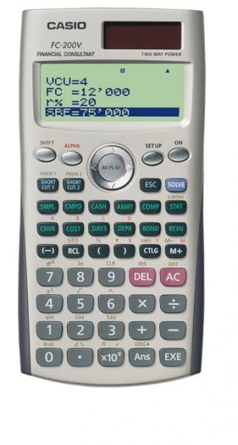 Casio FC-200V-S - zdjęcie główne