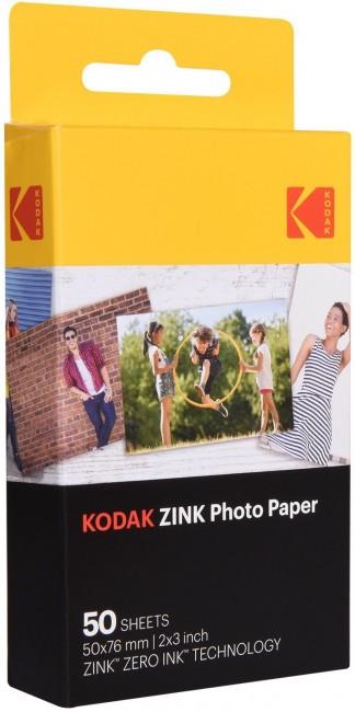 """Kodak ZINK Paper 2x3"""" - wkłady do aparatu Kodak Printomatic - 50 zdjęć - zdjęcie główne"""
