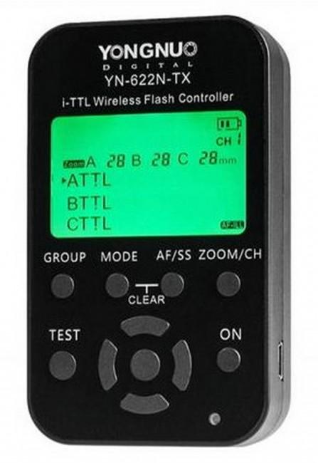 Yongnuo Kontroler wyzwalaczy radiowych YN622N-TX do Nikon - zdjęcie główne