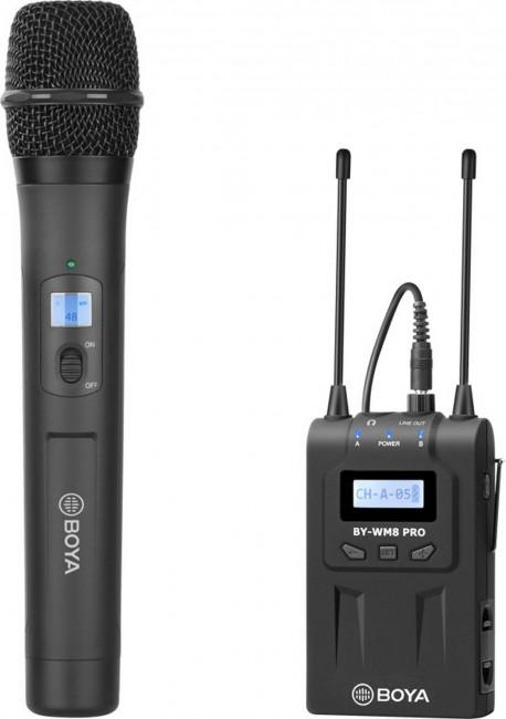 Boya uhf handheld wireless microphone -1 tx+1 rx - zdjęcie główne