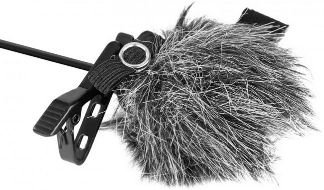 Boya fur windscreen for lavalier mic (3pcs/pack) (by-b05) - zdjęcie główne