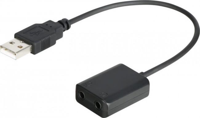 Boya 3.5mm microphone to usb adapter cable - zdjęcie główne