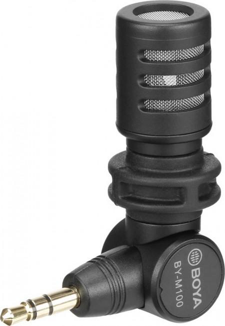 Boya plug and play microphone -for dslr, camcorder, recorder - zdjęcie główne