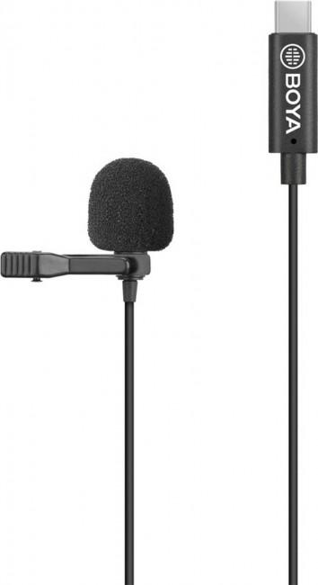 Boya lavalier microphone -for type-c devices - zdjęcie główne