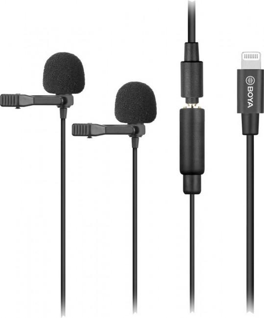 Boya dual-mic lavalier microphone -for ios devices - zdjęcie główne